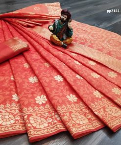 Banarasi Silk Saree (06 Pcs Catalog)