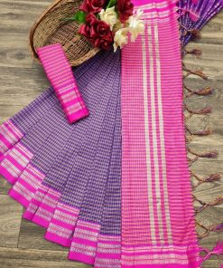 Soft Cotton Silk Saree (08 Pcs Catalog)