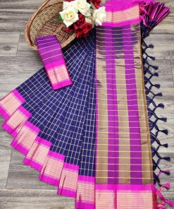 Soft Cotton Silk Saree (12 Pcs Catalog)