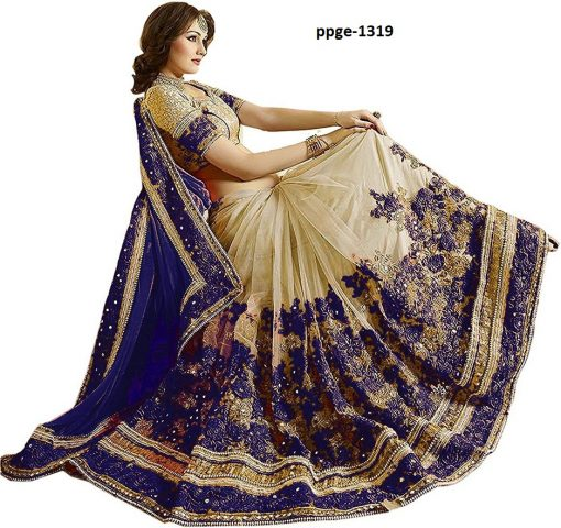 Daily Wear Blue Coloured Saree